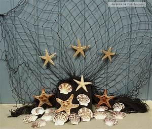 Fischernetz Deko Bad : fischernetz 2 x 4m braun mit 7 seesternen und 15 muscheln f r die maritime deko ~ Eleganceandgraceweddings.com Haus und Dekorationen