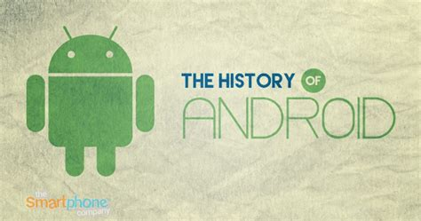 android history infographic a look at android operating system history