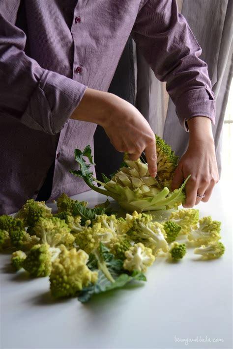 come si cucina il cavolfiore romanesco how to trim and cook cauliflower come pulire e