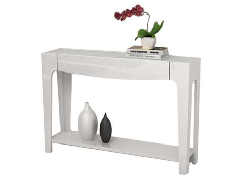 meuble cuisine 60 cm de large console blanc