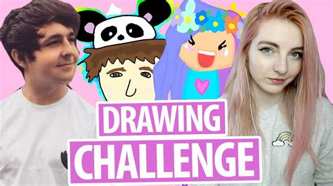 drawing youtuber fan art challenge youtube