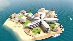 Villes du futur bientot une cite flottante dans un lagon for Toit de maison dessin 7 villes du futur bientat une cite flottante dans un lagon