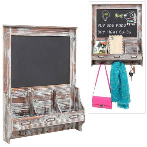 kitchen chalkboard organizer wall mounted mail sorter organizer chalkboard rustic 3345