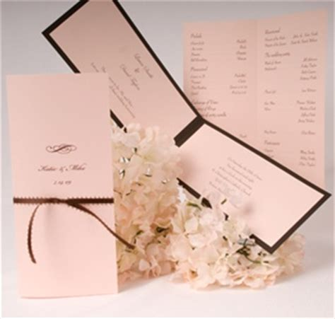 diy wedding ceremony program new york city nyc