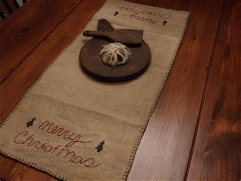 8 best images about Primitive table runners on Pinterest