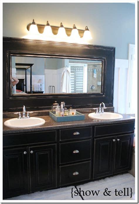 10+ Diy Ideas For How To Frame That Basic Bathroom Mirror