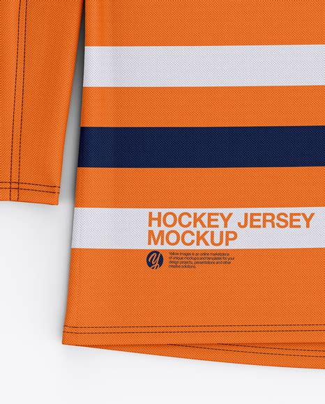 Believe us, you will be suprised by the ease of … Download Mens Hockey Jersey Mockup Front Top View Pictures ...