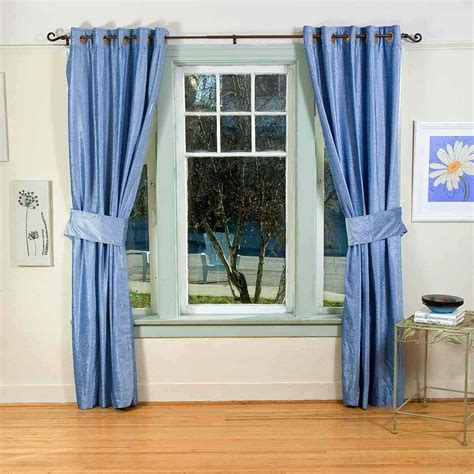 bedroom inspiration blue curtains decosee