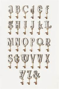 marquee letter hook anthropologie With anthropologie wall letters