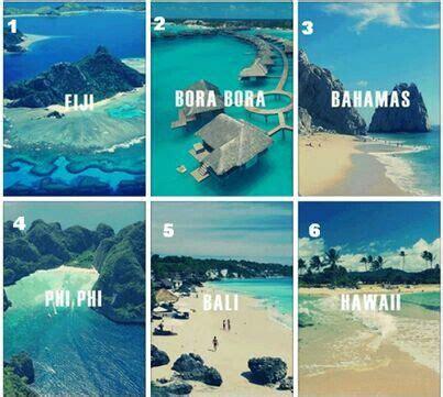 fiji bora bora bahamas phi phi bali  hawaii