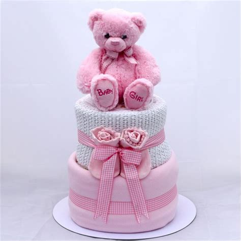 Baby Shower Cakes Girls by Nappy Cakes Corporate Baby