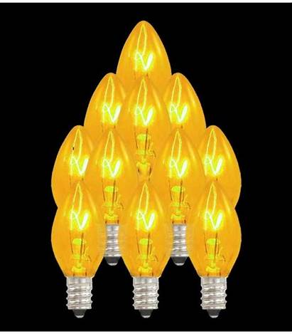 C7 Replacement Bulbs Caps Lightbulbs Socket Individual