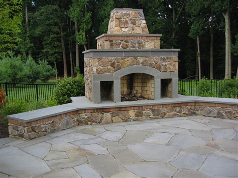 Comfortable Outdoor Fireplace Chimney Quickinfoway