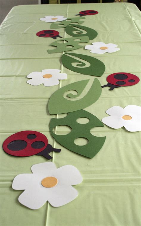 Guilty Pleasures Cricut Ladybugs Table Decor Birthday
