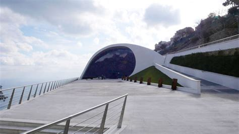 auditorium oscar niemeyer in ravello