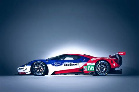 A Race Car Wallpaper by Wallpaper Ford Gt Race Car 24 Hours Of Le Mans Cars