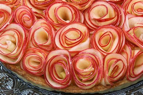 mandoline cuisine tarte aux pommes comme un bouquet de roses