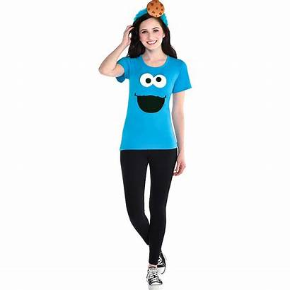 Cookie Monster Costume Adult Sesame Street Accessory