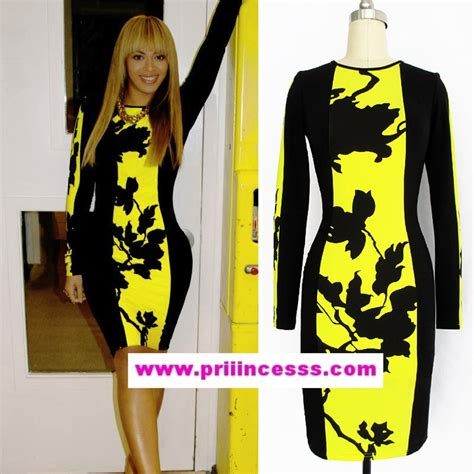 robe jaune et noir black yellow dress dress edin