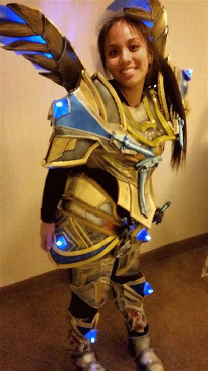 Paladin Cosplay Warcraft Challenge Mode Cestlasara Helmet