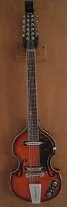 Conrad 40176 Violin 12 String 1967 Sunburst