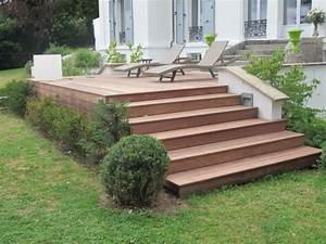 Pose Lame Terrasse Composite : bien pose terrasse composite sur plot 11 habillage ~ Premium-room.com Idées de Décoration