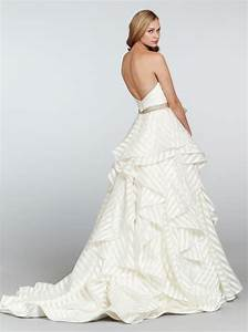 thoughts on this dress hp6315 weddingbee With pinstripe wedding dress