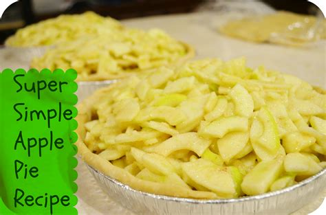 and easy apple recipes easy homemade apple pie recipe from tree to table