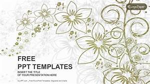 Abstract Floral Nature PowerPoint Templates