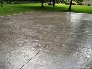 Italian Slate stamped concrete pattern installed by ...