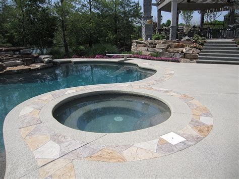 Diy Concrete Pool Deck Resurfacing Options by Driveway Ideas