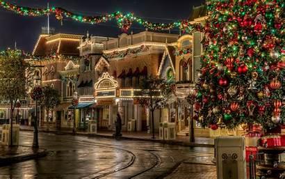 Christmas Nice Amazing Lights Wallpapers Holidays Decoration
