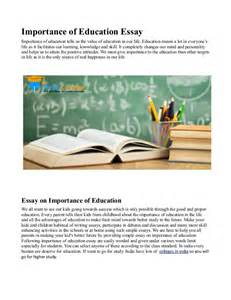 importance college education essay review of literature in  importance college education essay