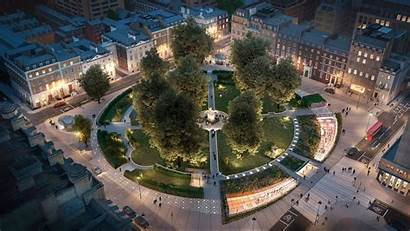 Cavendish Square London Oxford Development Underground Health