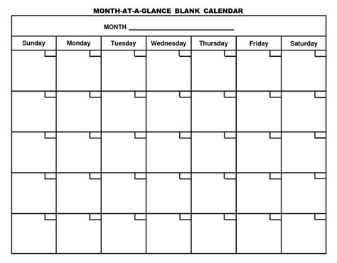 fill in calendar template 5 best images of free fill in blank calendar printables free blank calendar printables free