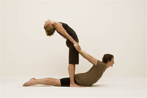 two person yoga beginner