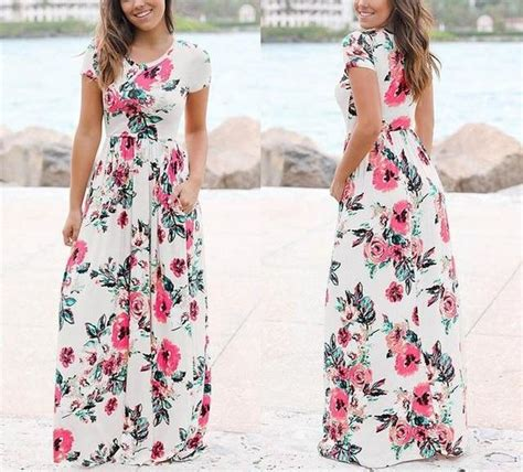 size boho floral maxi dress yoga mandala shop