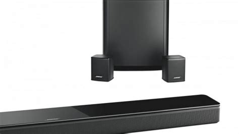 Bose Introduces New Wireless Soundbar And Surround Sound