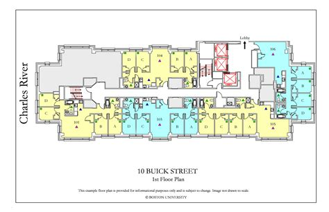 buick floor plan housing boston university