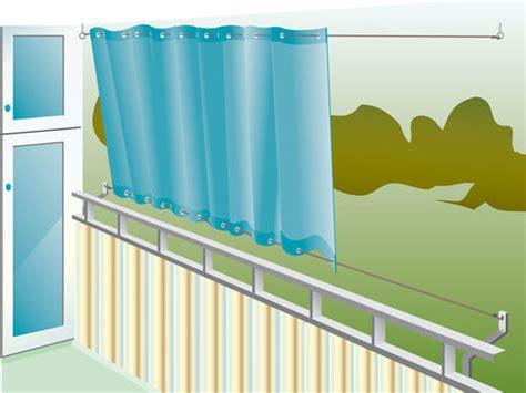 balkon sonnenschutz ohne bohren balkon sonnenschutz sichtschutz selbst de
