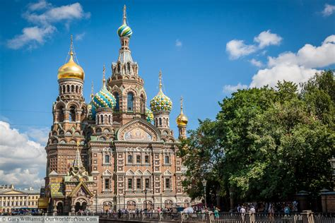 Cathedrals And Churches Of St Petersburg Russia Our World