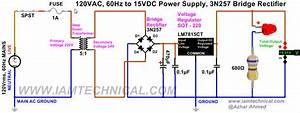 Circuit Diagram 15v Dc Power Supply  U2013 Readingrat Net