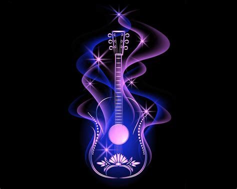 Animated Guitar Wallpaper - abstract guitar wallpapers wallpaper cave