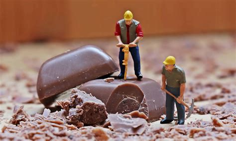 picture chocolate indoor toy decoration worker