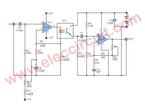 Isolate Ground Amplifier Using Elec Circuit