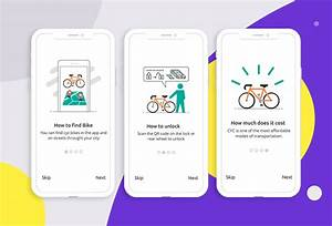 Mobile App For Cycle User Guide On Behance