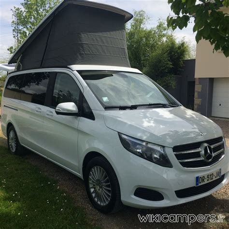 location camping car van mercedes marco polo  cdi