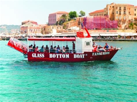 Glass Bottom Boat Chania chania boat trip chania cruises chania glass bottom boat