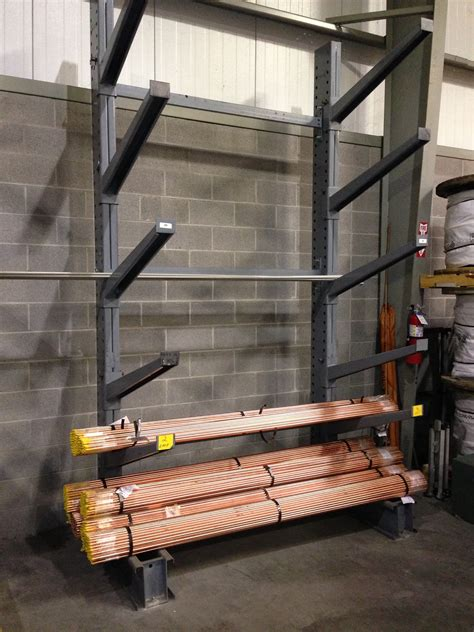 pipe bar tubing rack cantilever pipe storage racks