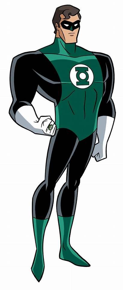 Lantern Justice League Dcau Hal Jordan Deviantart